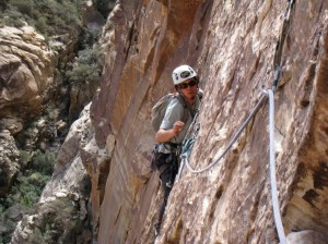 Great edge climbing on Dream of Wild Turkeys