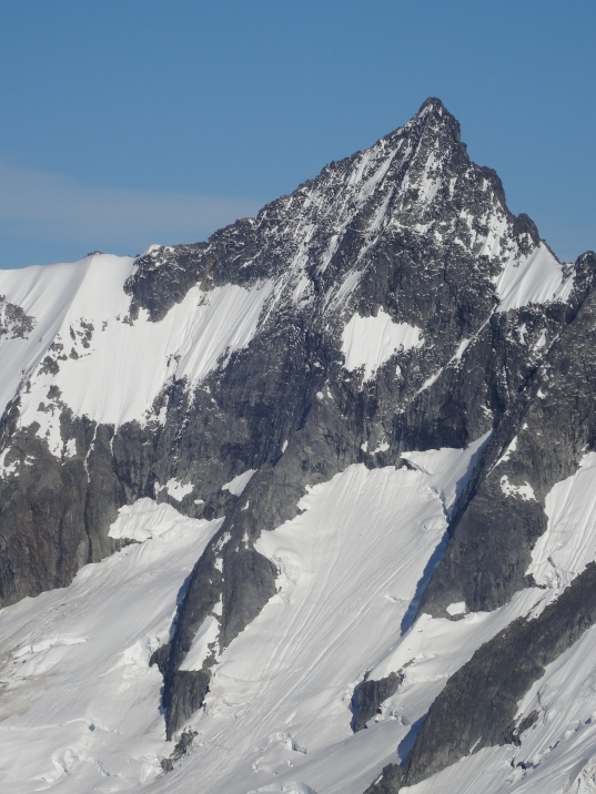 the NW Face of Forbidden Peak