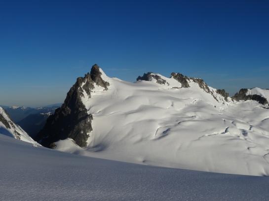 Dorado Needle and the McAllister Glacier, North Cascades National Park