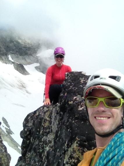 Summit of the Aiguille de l'm, North Cascades National Park