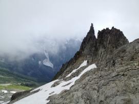 The Aiguille de l'm, North Cascades National Park