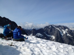 View from the Quien Sabe Glacier.
