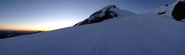 Dawn on Mount Baker